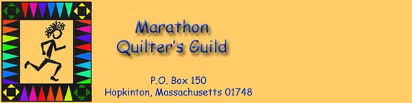 Marathon Quilter's Website About Us Page